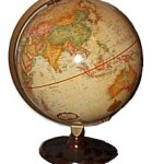Cream Colored Globe