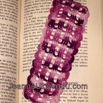 Crocheted Trellis Bookmark